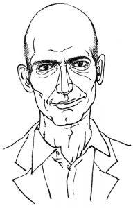 ジェフ・ベゾスの似顔絵
