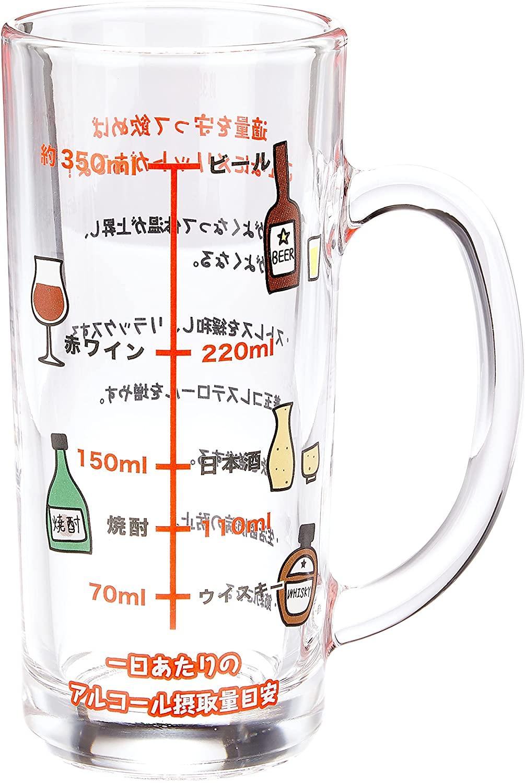 アルコール摂取適量 ジョッキ
